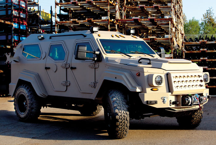 Know the differences between different armored vehicles